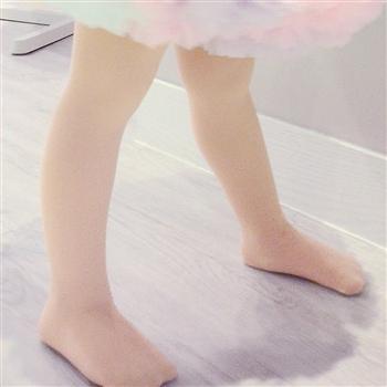 【華貴絲襪】超細棉絨兒童韻律跳舞襪(芭蕾舞專用)-粉膚色(6雙入)