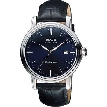 EPOS都會雅仕時尚機械腕錶3390.152.20.16.25FB