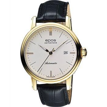 EPOS都會雅仕時尚機械腕錶3390.152.22.10.25FB