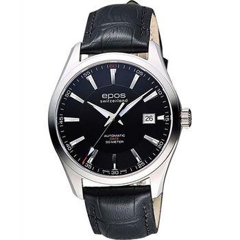 EPOS 復刻時尚家機械腕錶3409.132.20.15.25FB