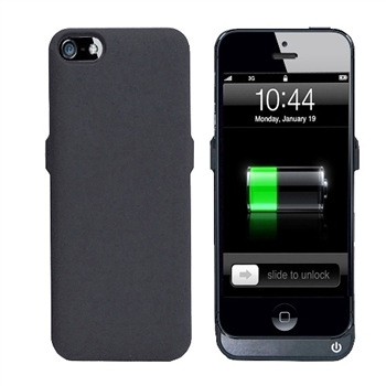 iPhone 5 / 5S 超薄背殼式行動電源/2400mA
