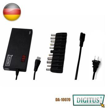 曜兆DIGITUS   通用NB變壓器70W加USB充電孔