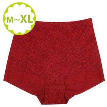 (蓓氏嘉)彈力無痕平口束褲-紅色單件入 NO.751(M)