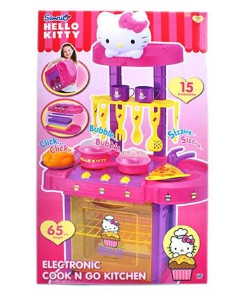 【Hello Kitty】卡娃伊系列 KT音效廚房組