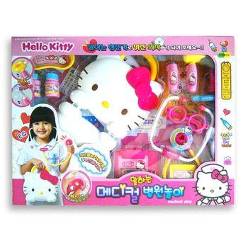 【Hello Kitty】家家酒系列 KT造型手提盒醫護組
