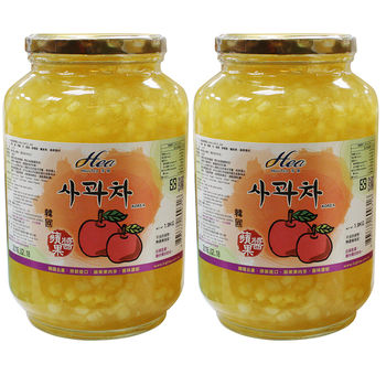 HIGH TEA芳第 韓國原裝進口蜜香蘋果茶1.9kgX2罐