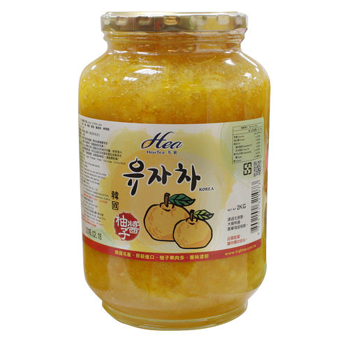 HIGH TEA芳第 韓國原裝進口-黃金蜂蜜柚子茶(2kg/罐)