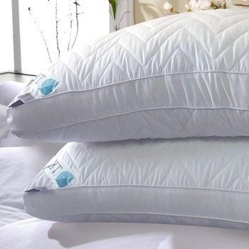 【義大利 La Belle】立體車邊舖棉天絲輕柔舒眠枕-1入-任