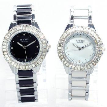 EYKI 奢華晶鑽陶瓷腕錶