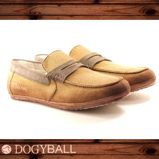 【DOGYBALL】JB2 單寧帆船鞋(卡其色)