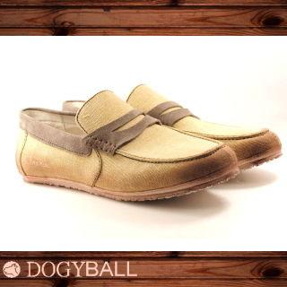 【DOGYBALL】JB2 單寧帆船鞋(米色)
