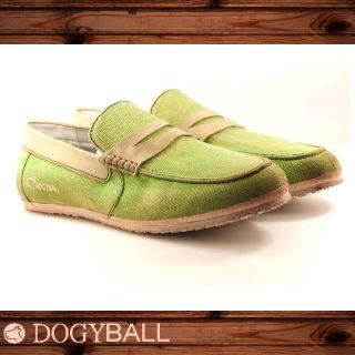 【DOGYBALL】JB2 單寧帆船鞋(綠色)