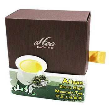 HIGH TEA 芳第 有機高山茶系列 -(山境)阿里山珠露茶4gX8入 2盒/組