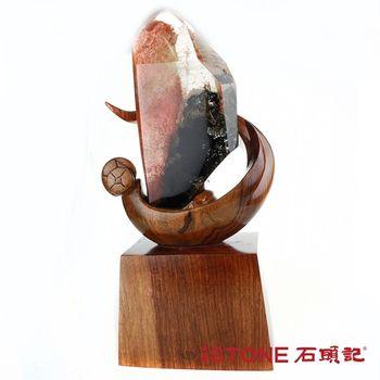 【石頭記】 聚寶幻象水晶柱