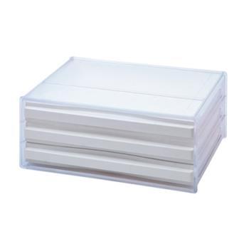 【SONA MALL】三層橫式桌上資料文件櫃
