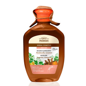波蘭Green Pharmacy檀香木&橙花&玫瑰舒緩保濕沐浴油