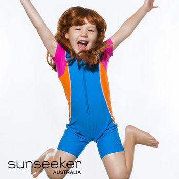 【sunseeker 泳裝】澳洲名品可愛小女童防寒連身泳裝 (50026)