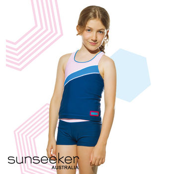 【sunseeker 泳裝】澳洲名品可愛女孩泳裝-加大版 (53059X)