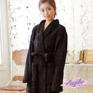 【天使霓裳】輕鬆自在柔軟珊瑚絨綁帶睡袍浴袍(共4色)AB1294