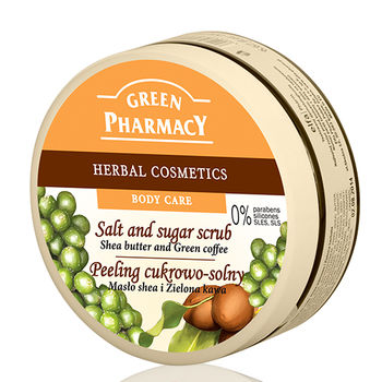 波蘭Green Pharmacy乳油木果油&咖啡豆美體去角質霜