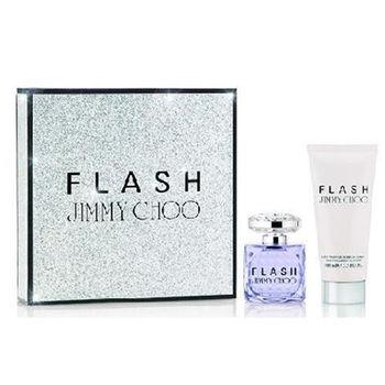 JIMMY CHOO Flash 禮盒(淡香精60ml+身體乳100ml)