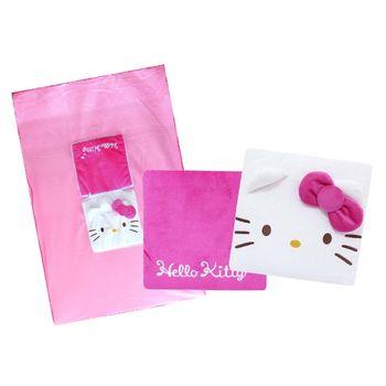 【Hello Kitty】臉型兩用抱枕KT-0265