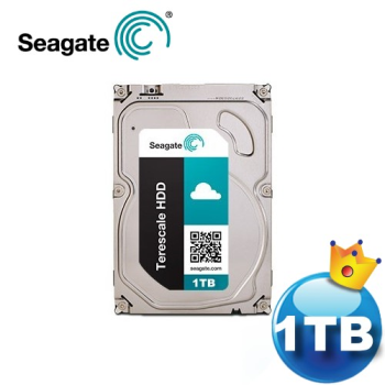 Seagate 3.5吋 SATA3 1TB 雲端儲存硬碟 ST1000NC000