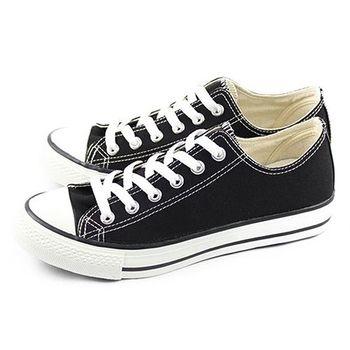 FUFA 低統百搭帆布鞋 (T41) 黑色