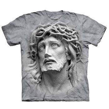 【摩達客】預購(大尺碼)-美國進口The Mountain 荊棘冠 T恤