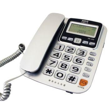 【SANLUX台灣三洋】來電顯示有線電話機 TEL-832(三色可選)