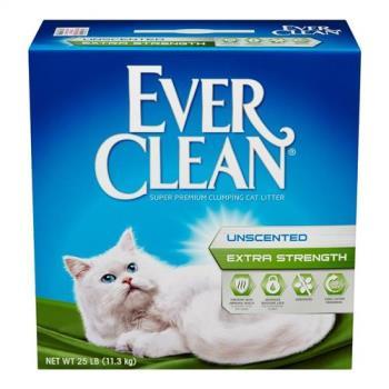 【Ever Clean】藍鑽系列貓砂 藍標(25LB)2盒