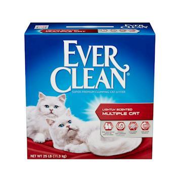 【Ever Clean】藍鑽系列貓砂 紅標(25LB)2盒