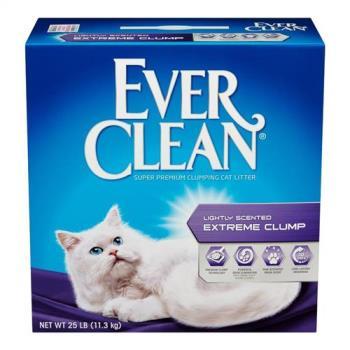 【Ever Clean】藍鑽系列貓砂 綠標(25LB)2盒