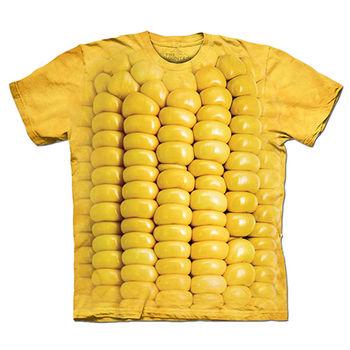 【摩達客】預購(大尺碼)-美國進口The Mountain 玉米條 T恤