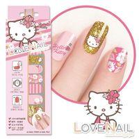~LOVE NAIL~Hello Kitty x LOVE NAIL限定版指甲油貼 ^#4