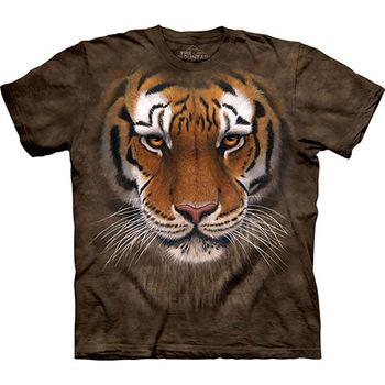 【摩達客】預購(大尺碼)-美國進口The Mountain 虎勇士 T恤