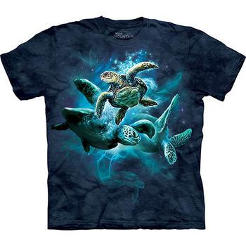 【摩達客】預購(大尺碼)-美國進口The Mountain 海龜群 T恤