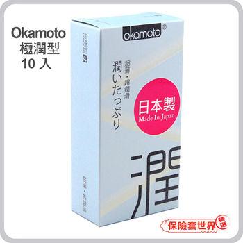 【保險套世界精選】岡本.City - Ultra Smooth 極潤型保險套(10入)