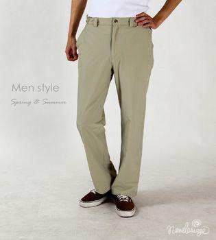 日本namelessage無名世代男款吸濕排抗汗UV彈性長褲