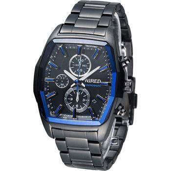 ALBA WIRED 酒桶型計時腕錶 7T92-X261B AF8T35X1
