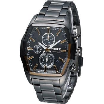ALBA WIRED 酒桶型計時腕錶 7T92-X261Y AF8T37X1