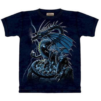 【摩達客】預購(大尺碼)-美國進口The Mountain 骷髏龍 T恤