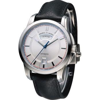 艾美錶 Maurice Lacroix 奔濤系列 自動機械腕錶 PT6158-SS001-131