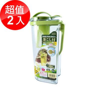 【日本岩崎】耐熱冷水壺2.2L-2入組