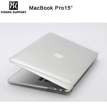POWER SUPPORT MacBook Pro 15吋 Retina Air Jacket 透明保護殼