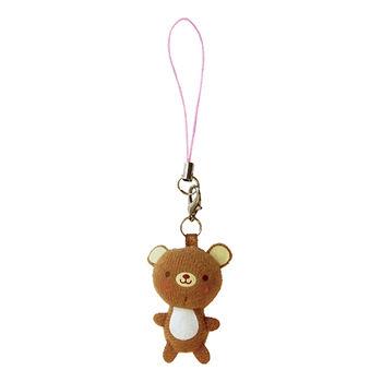 【UNIQUE】動物樂園迷你公仔吊飾。小棕熊