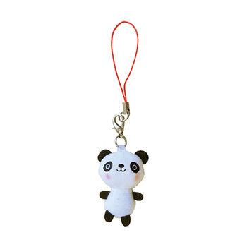 【UNIQUE】動物樂園迷你公仔吊飾。圓仔