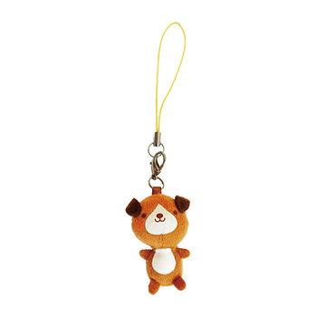 【UNIQUE】動物樂園迷你公仔吊飾。小棕狗