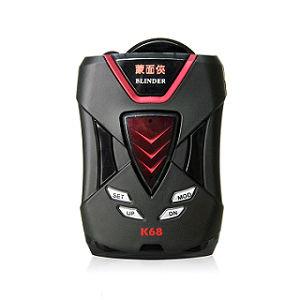 【征服者】蒙面俠 K68 行車雷達測速器