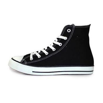 PLAYER 高統百搭帆布鞋 (TP52) 黑色